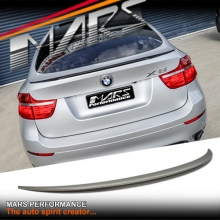 BMW Performance Style ABS Plastic (unpainted) Rear Trunk Lip Spoiler for BMW E71 X6