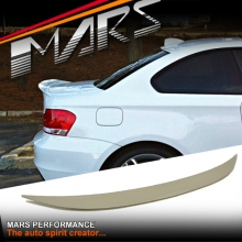 BMW Performance Style ABS Plastic (unpainted) Rear Trunk Lip Spoiler for BMW E82 Coupe