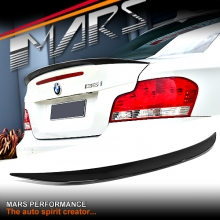 BMW Performance Style ABS Plastic (Gloss Black) Rear Trunk Lip Spoiler for BMW E82 Coupe