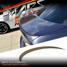 M3 Style ABS Plastic (unpainted) Rear Trunk Lip Spoiler for BMW E90 Sedan 05-11
