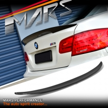 BMW Performance Style Carbon Fibre Rear Trunk Lip Spoiler for BMW E92 Coupe, inlcude E92 M3