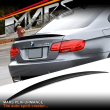 BMW Performance Style ABS Plastic (Gloss Black) Rear Trunk Lip Spoiler for BMW E92 Coupe