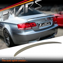 M3 Style ABS Plastic (unpainted) Rear Trunk Lip Spoiler for BMW E92 Coupe