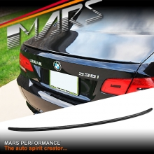 M3 Style ABS Plastic (Gloss Black) Rear Trunk Lip Spoiler for BMW E92 Coupe