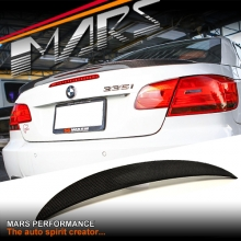 BMW Performance Style Carbon Fibre Rear Trunk Lip Spoiler for BMW E93 Convertible include M3