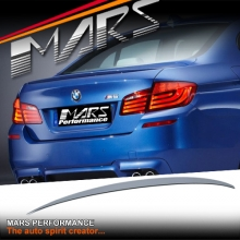 M Performance Style ABS Plastic (Unpainted) Rear Trunk Lip Spoiler for BMW 5-Series F10 Sedan inlcude M5