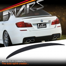 M Performance Style Carbon Rear Trunk Lip Spoiler for BMW F10 Sedan (Include F10 M5)