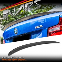 Carbon Fibre M Performance Style Rear Trunk Lip Spoiler for BMW F22 Coupe & F87 M2