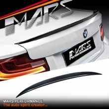 Gloss Black ABS Plastic M Performance Style Rear Trunk Lip Spoiler for BMW F22 Coupe & F87 M2