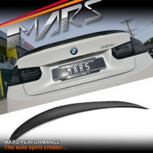 M Performance Style Carbon Rear Trunk Lip Spoiler for BMW F30 & F80 M3