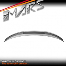 M4 Style ABS Unpainted trunk boot lip Spoiler for BMW 3 Series F30 & M3 F80