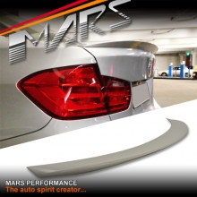 M Performance Style ABS Plastic (Unpainted) Rear Trunk Lip Spoiler for BMW 4-Series F32 Coupe