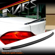 M Performance Style ABS Plastic (Gloss Black) Rear Trunk Lip Spoiler for BMW 4-Series F32 Coupe