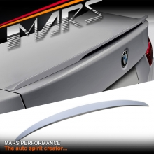 ABS Plastic (UNPAINTED) M Performance Style Rear trunk boot lip Spoiler for BMW 4 Series F36 4 doors Sedan