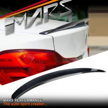 Gloss Black M Performance Style ABS Plastic Rear trunk boot lip Spoiler for BMW 4 Series F36 4 doors Sedan