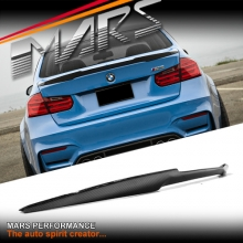 M4 Style Carbon Fiber Rear trunk boot lip Spoiler for BMW 3 Series F30 & M3 F80