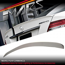 C63 AMG Style ABS Plastic (unpainted) Rear Trunk Lip Spoiler for Mercedes Benz W204 Coupe C204