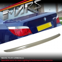 M5 Style ABS Plastic Rear Trunk Lip Spoiler for BMW E60 Sedan 03-09