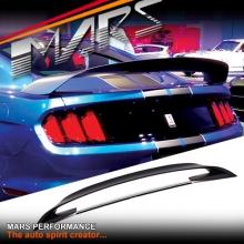 Matt Black ABS Plastic Shelby GT350-R Style Rear Trunk Boot Spoiler Lip for Ford Mustang FM 2015-2017