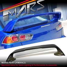 Evolution X Style ABS Plastic Rear Trunk Wing Spoiler for Mitsubishi Lancer Sedan 07-16