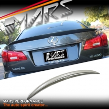 F Sports Style ABS Plastic Rear Trunk Lip Spoiler for Lexus IS250 IS350 ISF XE20 05-13