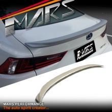 F Sports Style ABS Plastic Rear Trunk Lip Spoiler for Lexus IS250 IS350 ISF XE30 14-17
