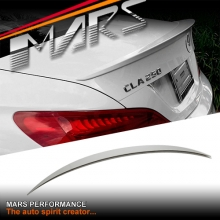 CLA45 AMG Style ABS Plastic (unpainted) Rear Trunk Lip Spoiler for Mercedes Benz CLA-Class C117 W117