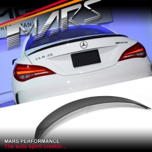 CLA45 AMG Style Carbon Fibre Rear Trunk Lip Spoiler for Mercedes Benz CLA-Class C117 W117