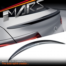 Gloss Black AMG Style ABS Plastic Rear Trunk Lip Spoiler for Mercedes Benz C205 Coupe, include C43 & C63-S