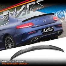 FD Style Carbon Fibre Rear Trunk Lip Spoiler for Mercedes Benz C205 Coupe, include C43 & C63-S