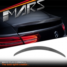 GLE63 AMG Style Carbon Fibre Rear Trunk Lip Spoiler for Mercedes-Benz GLE Coupe W292 C292