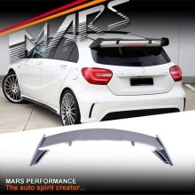 ABS Plastic (unpainted) AMG A45 Style Rear Roof Spoiler for Mercedes-Benz A Class W176