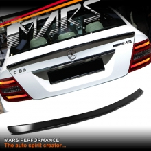 AMG 507 C63 Style Rear ABS (Gloss Black) Trunk Lip Spoiler for Mercedes-Benz C-Class W204 Sedan