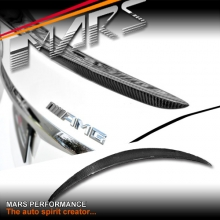 AMG Style Carbon Fibre Rear Trunk Lip Spoiler for Mercedes Benz W205 Sedan, include C43 & C63-S