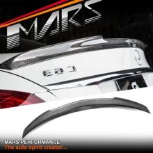 FD Style Carbon Fibre Rear Trunk Lip Spoiler for Mercedes Benz W205 Sedan, include C43 & C63-S