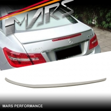 AMG E63 Style Rear ABS (unpainted) Trunk Lip Spoiler for Mercedes-Benz E-Class W207 C207 Coupe & Convertible