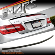 AMG E63 Style Rear ABS (Gloss Black) Trunk Lip Spoiler for Mercedes-Benz E-Class W207 C207 Coupe & Convertible