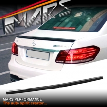 AMG E63 Style Rear ABS Trunk Lip (Gloss Black) Spoiler for Mercedes-Benz E-Class W212 Sedan