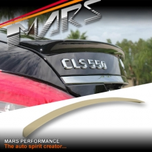 CLS63 AMG Style ABS Plastic Rear Trunk Lip Spoiler for Mercedes Benz CLS-Class W218 C218