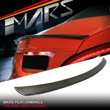 CLS63 AMG Style Carbon Fibre Rear Trunk Lip Spoiler for Mercedes Benz CLS-Class W218 C218