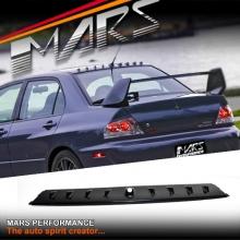 VORTEX Style ABS Plastic Rear Roof Fin Spoiler for MITSUBISHI LANCER MR EVOLUTION 7 8 9 Sedan