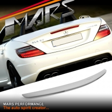 AMG SLK55 Style ABS Plastic Rear Trunk Lip Spoiler for Mercedes-Benz SLK R172