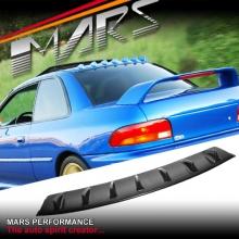 Gloss Black Rear Roof Fin Spoiler for SUBARU GC8 Impreza Sedan 94-00