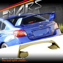 WRX STi Style ABS Plastic Trunk Spoiler Wing for Subaru Impreza 14-17