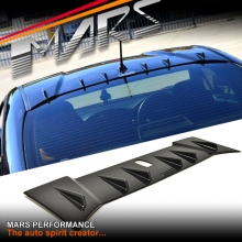 Charge Speed Style Gloss Black Rear Roof Spoiler for TOYOTA 86 & SUBARU BRZ (Antenna Models)