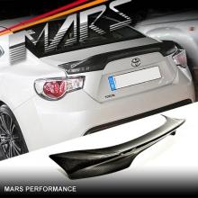 TRD Style Carbon Fibre Rear Trunk Lip Spoiler for TOYOTA 86 GT GTS & SUBARU BRZ