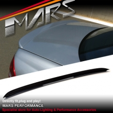 AMG C55 Style ABS Plastic Rear Trunk Lip Spoiler for Mercedes-Benz W203 Sedan