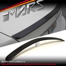 C63 AMG Style Carbon Fibre Rear Trunk Lip Spoiler for Mercedes Benz W204 Sedan