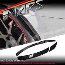 Mercedes-Benz W204 C63 AMG Real Carbon Fibre Rear Rear Wheels Side Lip Diffuser