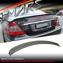 AMG E63 Style Rear ABS Trunk Lip Spoiler for Mercedes-Benz E-Class W211 Sedan